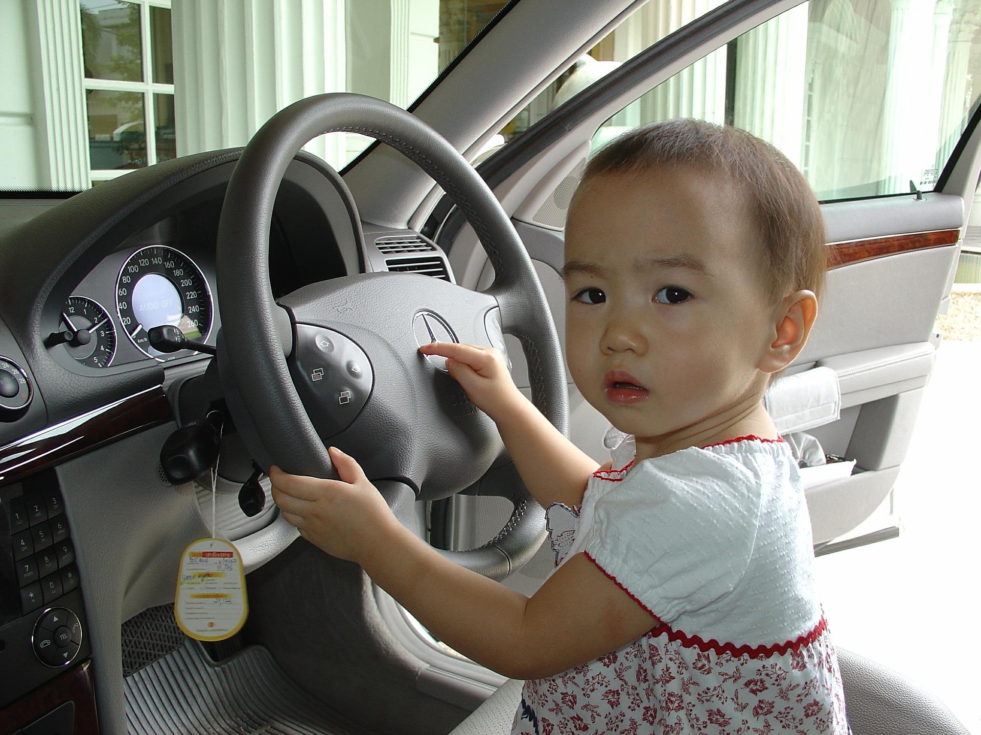 conduire avec un bébé à bord